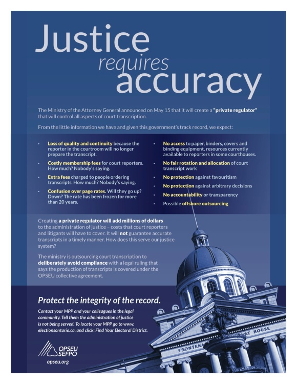 2013-05 Court Reporter_justice requires accuracy flyer_g